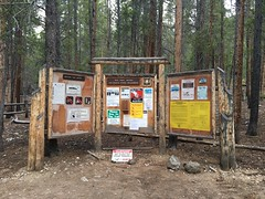 North Cottonwood Creek trailhead