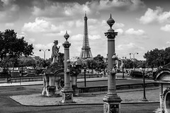 Paris, France- The City of Light in Black and White (141)