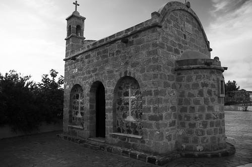 A tiny church in Pyla