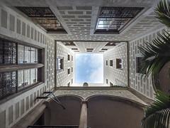 Barcelone cour intérieure IV