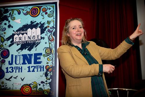 Mel Byron at Hastings Fringe Comedy Festival 2018