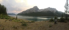 Gewitterstimmung am Spray Lake