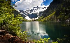 Goat Lake and Cadet Peak
