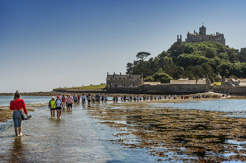 St Michael's Mount, West Cornwall