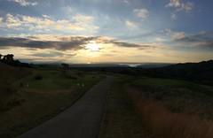 Aussicht vom Golfplatz auf Seattle