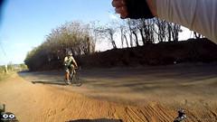 De volta ao asfalto, Casa Branca, Cumprimento ao ciclista