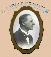 Captain J. H. Fearon - President of the Williamstown Lacrosse Club