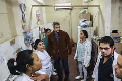 Visita al Hospital Regional de Mariscal Estigarribia