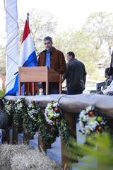 Presidente Abdo habilitó oficialmente la 44ª Expo Rodeo Trébol en Filadelfia