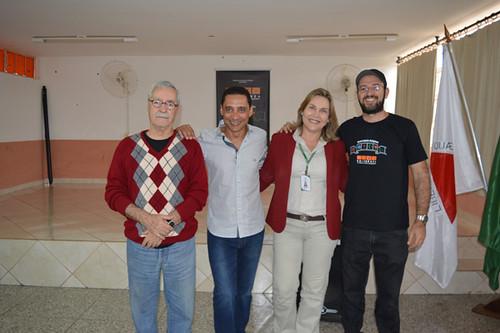 Luís Carlos Lacerda, Éderson Caldas, Leida Horst e Alisson Prodlik