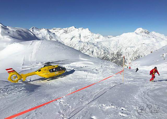 Rescue in the Austrian Alps