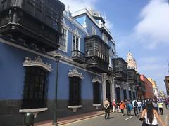 Balkone sind geprägt von der spanischen Kolonialzeit
