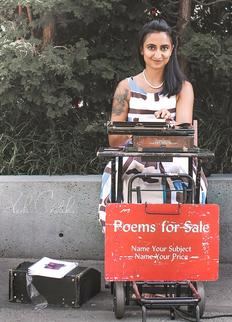 Poems for Sale in Seattle