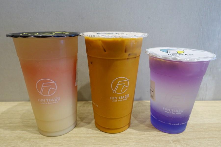 Fun Tea瘋茶,搖茶店,桃園美食,桃園茶飲,瘋茶,紫光檸檬凍飲 @VIVIYU小世界