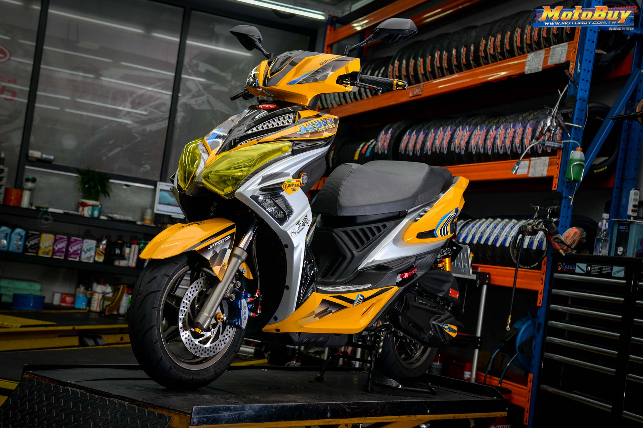[夯車分享] 黃色閃電!PGO ALPHA MAX 125   MotoBuy