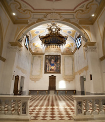 navata antica pieve di san prosdocimo oltre brenta.