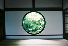 源光庵の窓