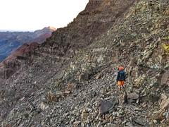 Matt doing some route finding