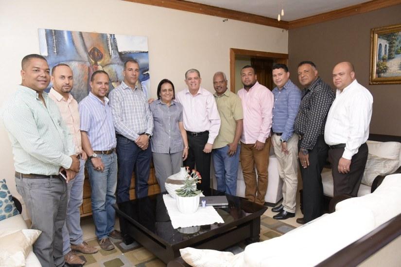 Visita en la casa de la diputada Antoria Surien en Jarabacoa, La Vega 11 de agosto 2018