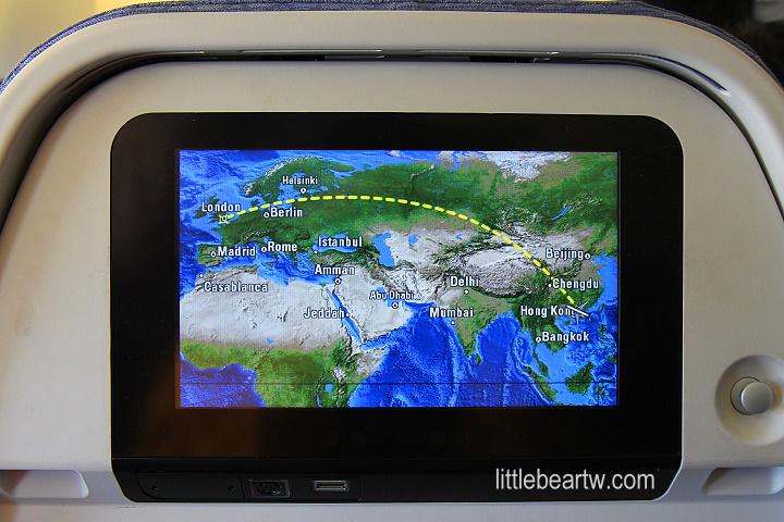 【英格蘭Day1-1】臺北(TPE)→香港(HKG)→倫敦(LHR):國泰航空經濟艙 - 小熊的樹刻