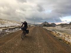 Brrr ist das kalt! Auf dem letzten Oass vor Huancavelica