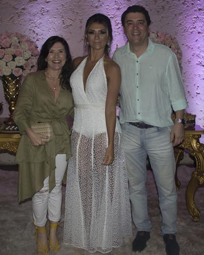 Alessandra Nogueira e Murilo Roque