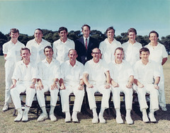 Williamstown CYMS Cricket Club - 1970-71 - Premiers - Matting