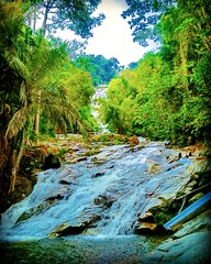 Lata Kinjang Waterfall, Tapah, Perak. North-South Expressway, 35300 Chenderiang, Perak https://goo.gl/maps/pWxhqkYPJ3F2 #travel #holiday #trip #traveling #旅行 #度假 #亞洲 #馬來西亞  #여행 #ホリデー #휴일 #праздник #путешествие #วันหยุด #การเดินทาง​ #瀑布 #น้ำตก​ #водопад  #