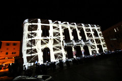 3Dmapping na kazalistu foto by TheWorst