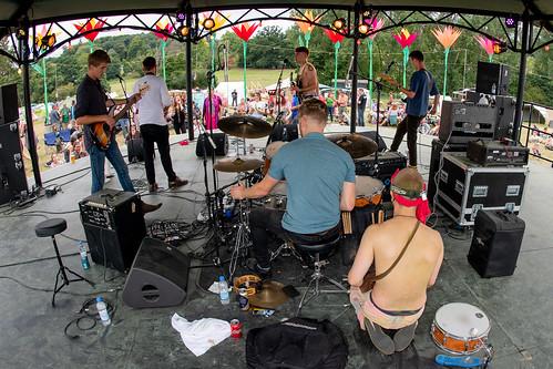 Bandstand Someone Anyone at Beautiful Days 2018