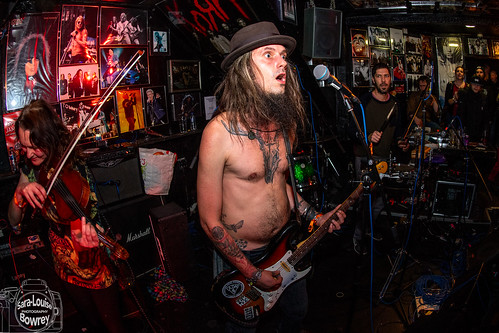 Johnny Kowalski & The Sexy Weirdoes at Ragged Bear 2018