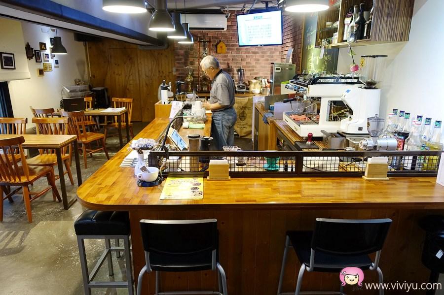 [蘆竹美食]参拾貳號豆倉 No.32Cafe'.轉角遇到咖啡館~父子檔共同經營.二樓小天地 @VIVIYU小世界