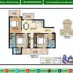 ambika-la-parisian-tromphe-tower-D-floor-plan-Unit-1-and-4