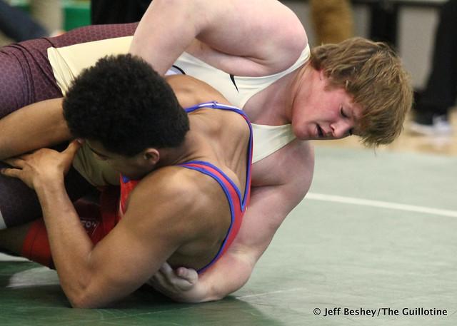 220 3rd: Chase McCleish (Newman Catholic) won by fall over Brennan Rutt (New Prague) (Fall 3:22). 181020BJF0303