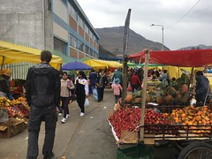 Auf dem Markt in Huancavelica