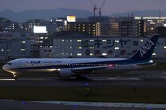ANA - All Nippon Airways Boeing 767-300ER JA609A at Fukuoka Airport