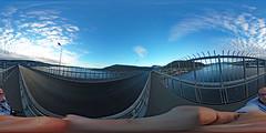 Norwegen - Tromsø, Tromsøbrua 360 Grad