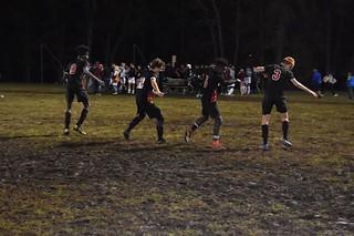 A little muddy victory shuffle