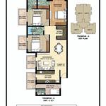 ambika-la-parisian-tromphe-tower-A-floor-plan