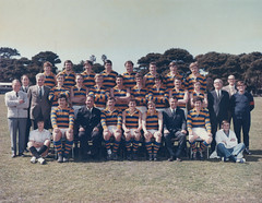 Williamstown CYMS Football Club - 1971 - First Eighteen - Runners Up