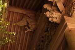 Yutoku Inari Shrine - Roof