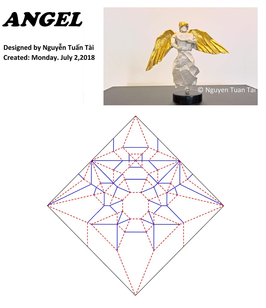 origami angel step by diagram s10 wiring schematic library the worlds most recently posted photos of and