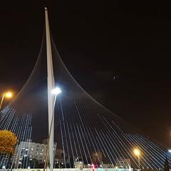 Calatrava Bridge in Jerusalem