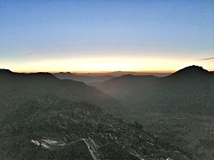 Sunrise from the summit of Missouri Mountain