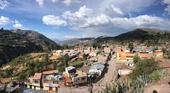 Typisches Dorf in den peruanischen Anden