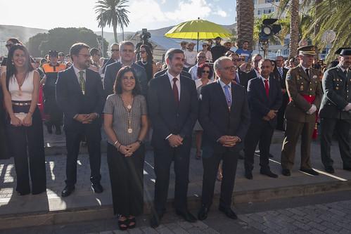 El Parlamento en las fiestas lustrarles de La Gomera