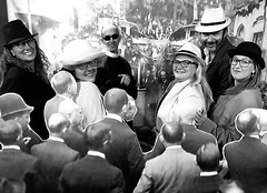 @juntstiana a la inauguració del #tramvia l'any 1916 #sompoble #latianaquemagrada #Tiana