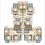 ambika-la-parisian-tromphe-tower-D-cluster-plan