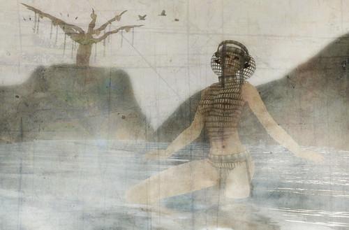 Madalena bathing by CapCat Ragu