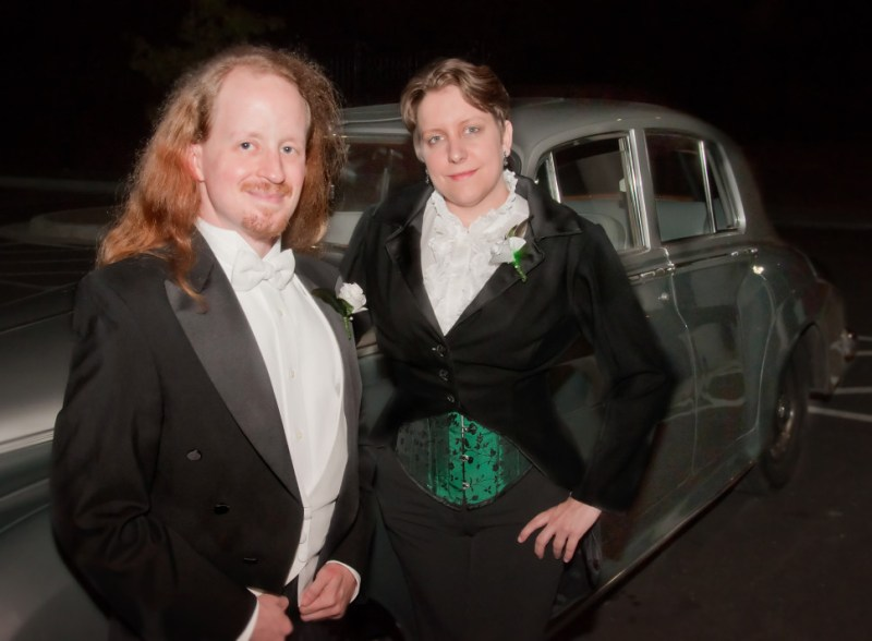 Couple by the car